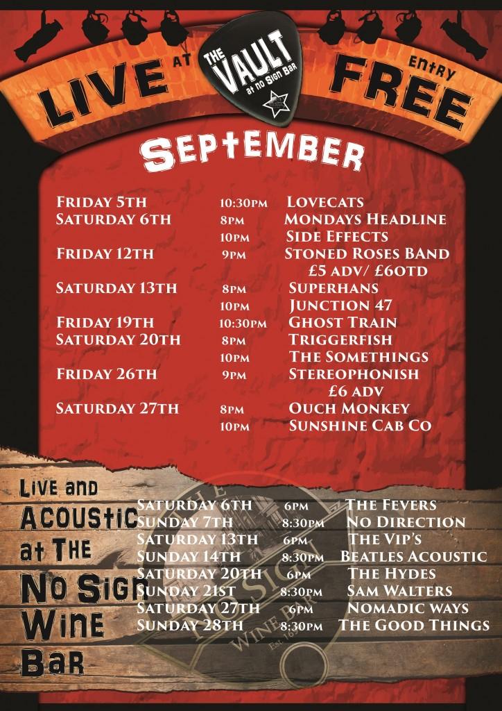 September listings