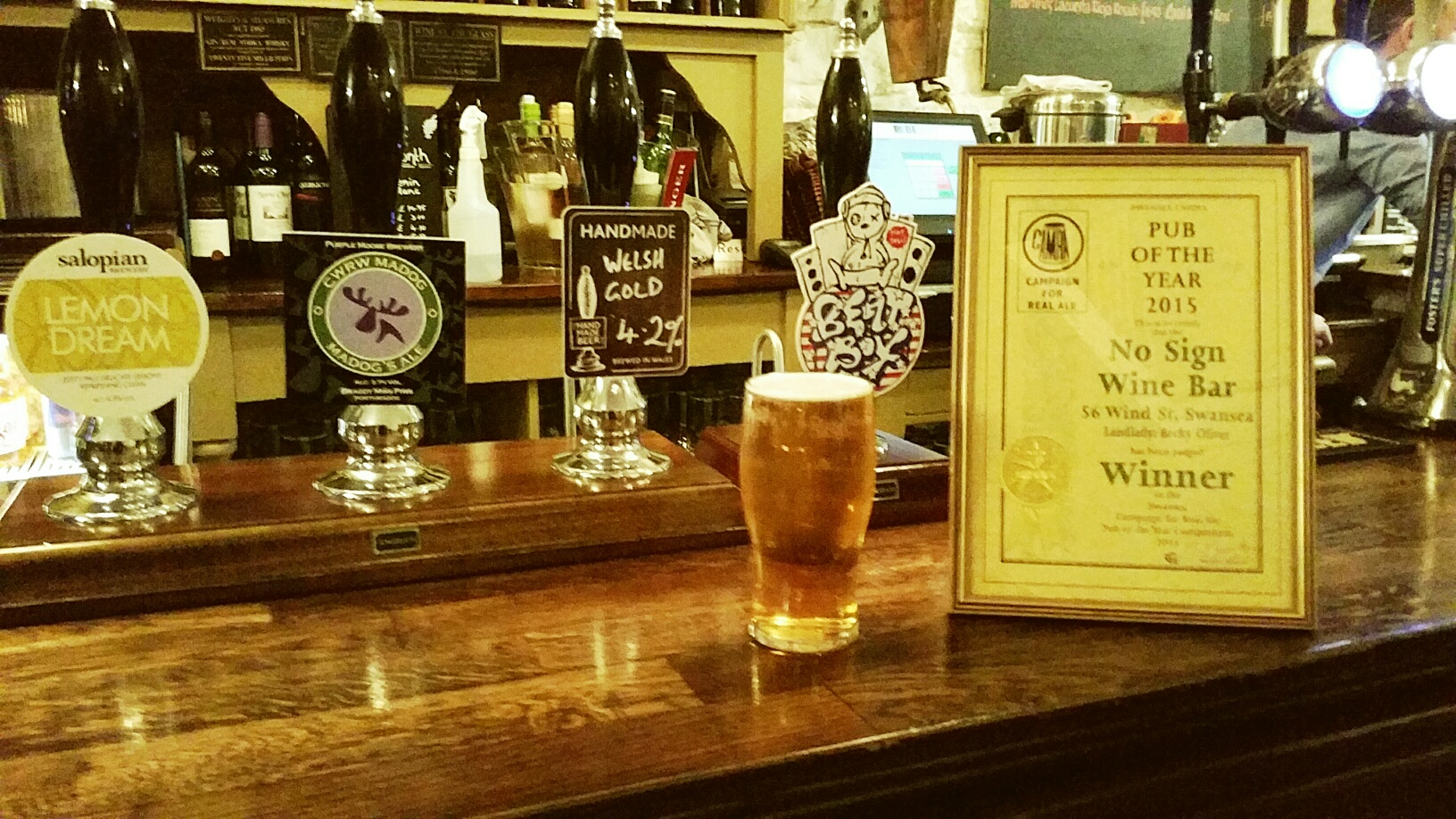 Cask Ales & Real Ciders | with discount for CAMRA Members.