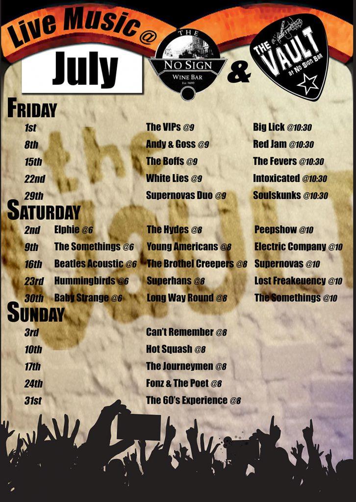 July bands