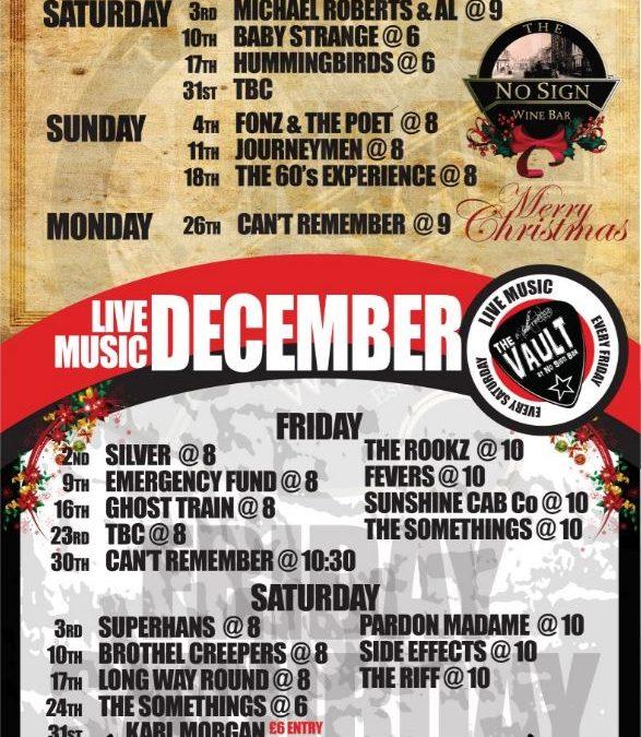 Live Music Listings | November '16