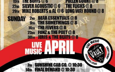 Live Music Listings   April'17