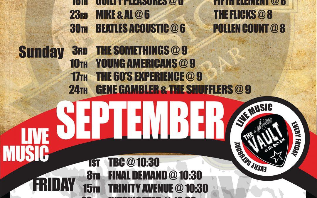 Live Music | September '17