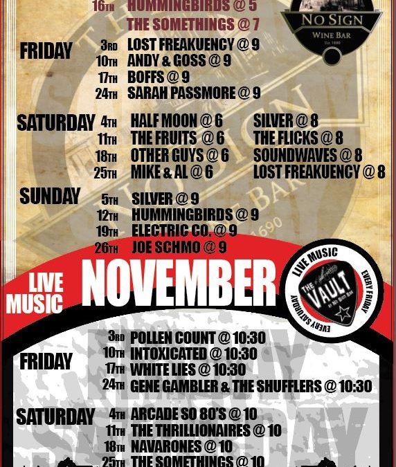 Live Music | November | Beaujolais Day