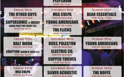 Live Bands & Music Listings | August 18′