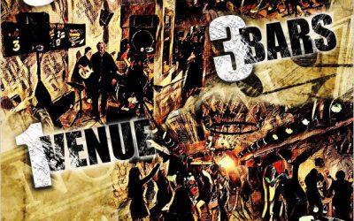 3 Bars 3 Bands 1 Venue | Every Saturday