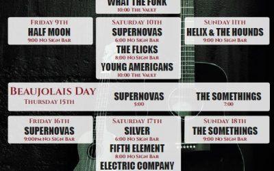 Live Music | November